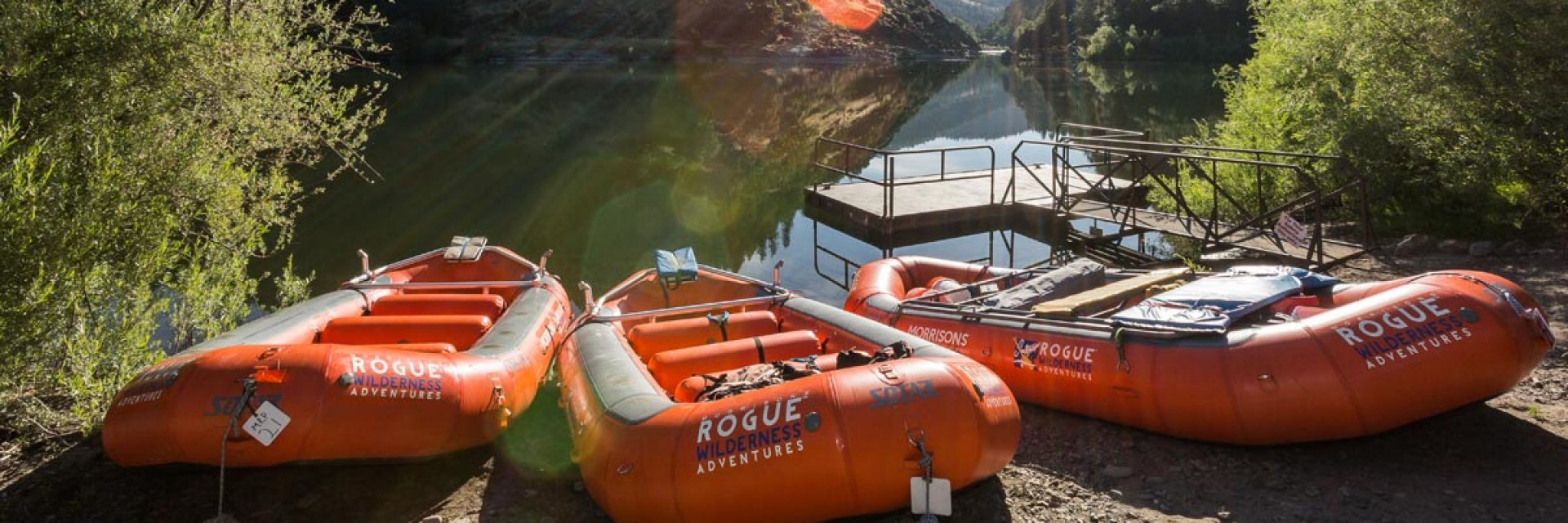 Raft the Rogue River