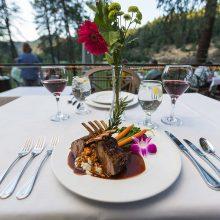 Dinner at Morrison's Lodge