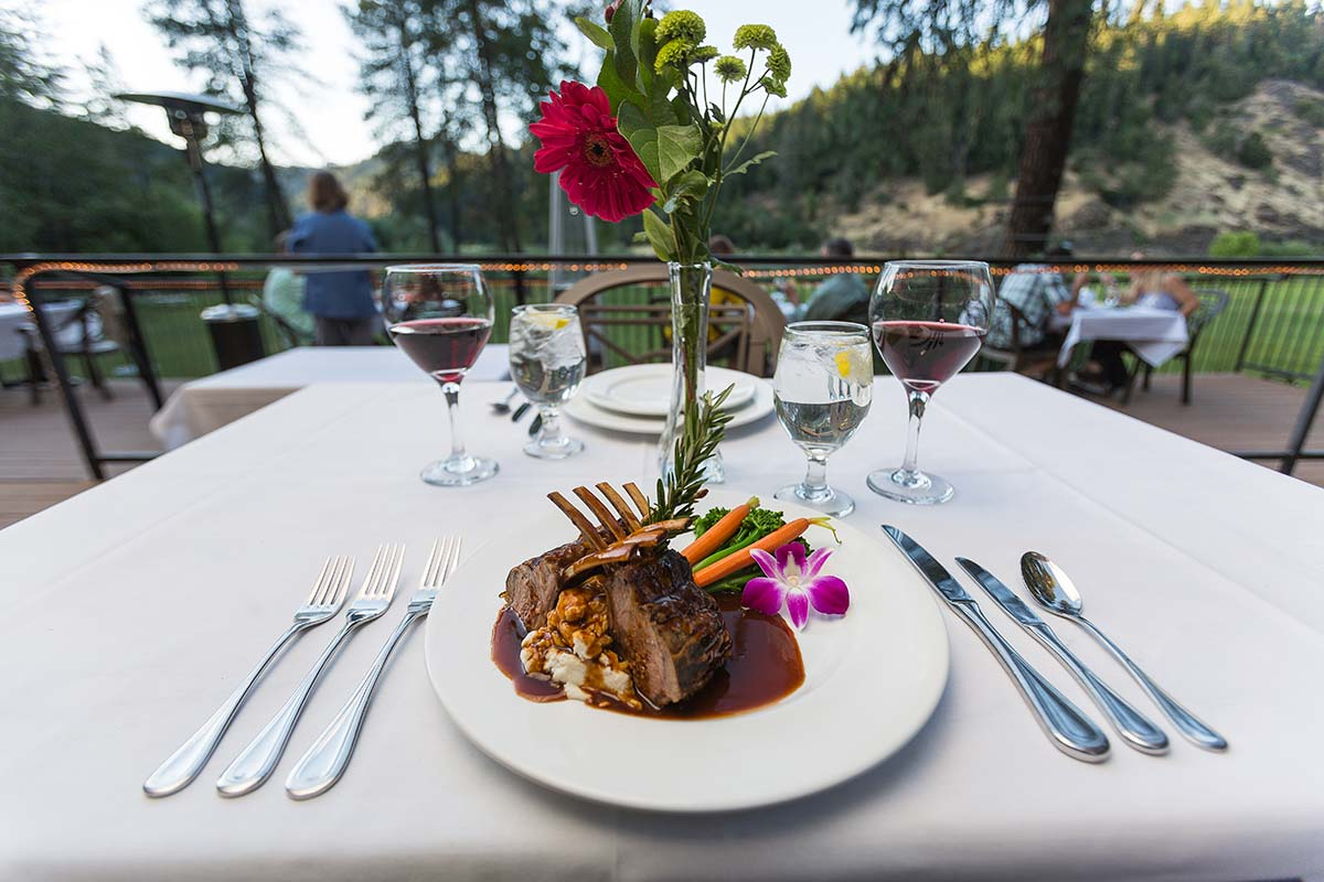 Fine Dining at Morrison's Lodge