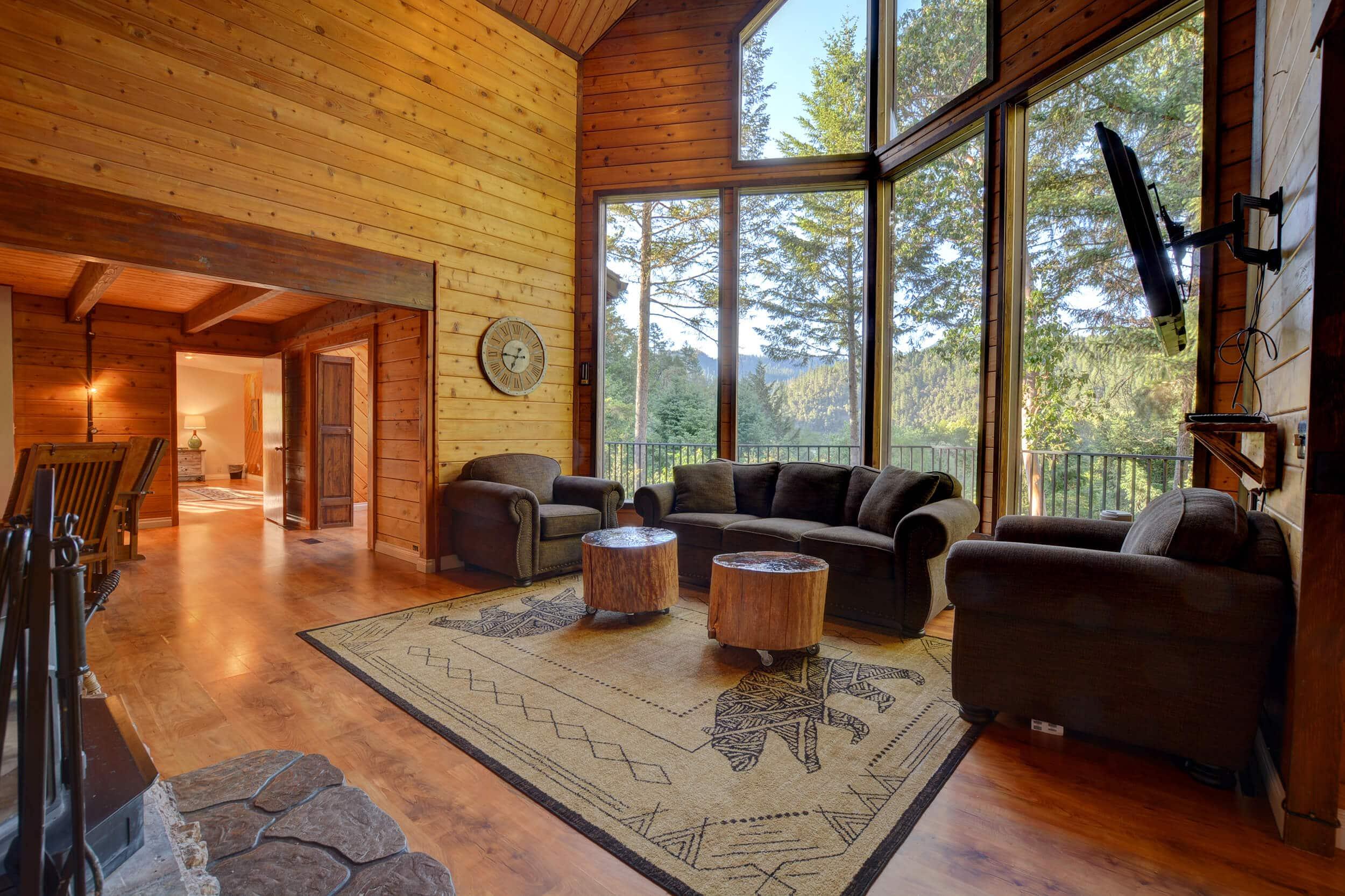 The Treetops House Livingroom