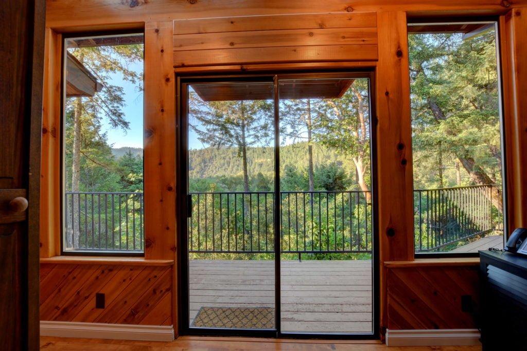 The Treetops House Sliding Glass Door