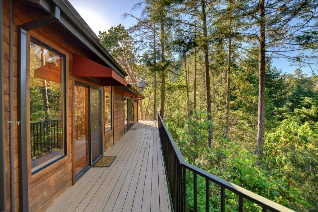 The Treetops House Wraparound Deck
