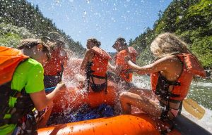 white water rafting on the Rogue River
