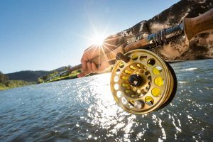 Guided fly fishing on the Rogue River